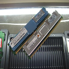 [중고]외산 FB Dimm DDR2 2G PC2-5300F FB Dimm